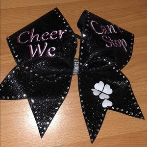 Girl Cheer hair bow